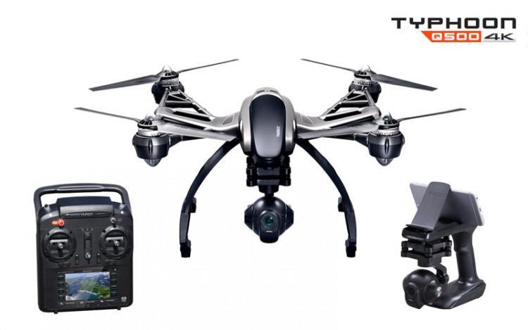 Quadricoptère Yuneec Q500 4K