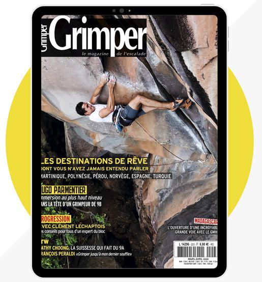 3 numéros du Magazine numériques Grimper gratuits (Dématérialisé)