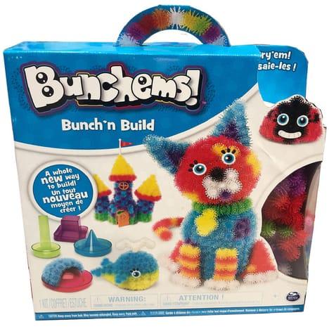 Kit créatif Bunchems Bunch'N build - 400 pièces + 18 accessoires