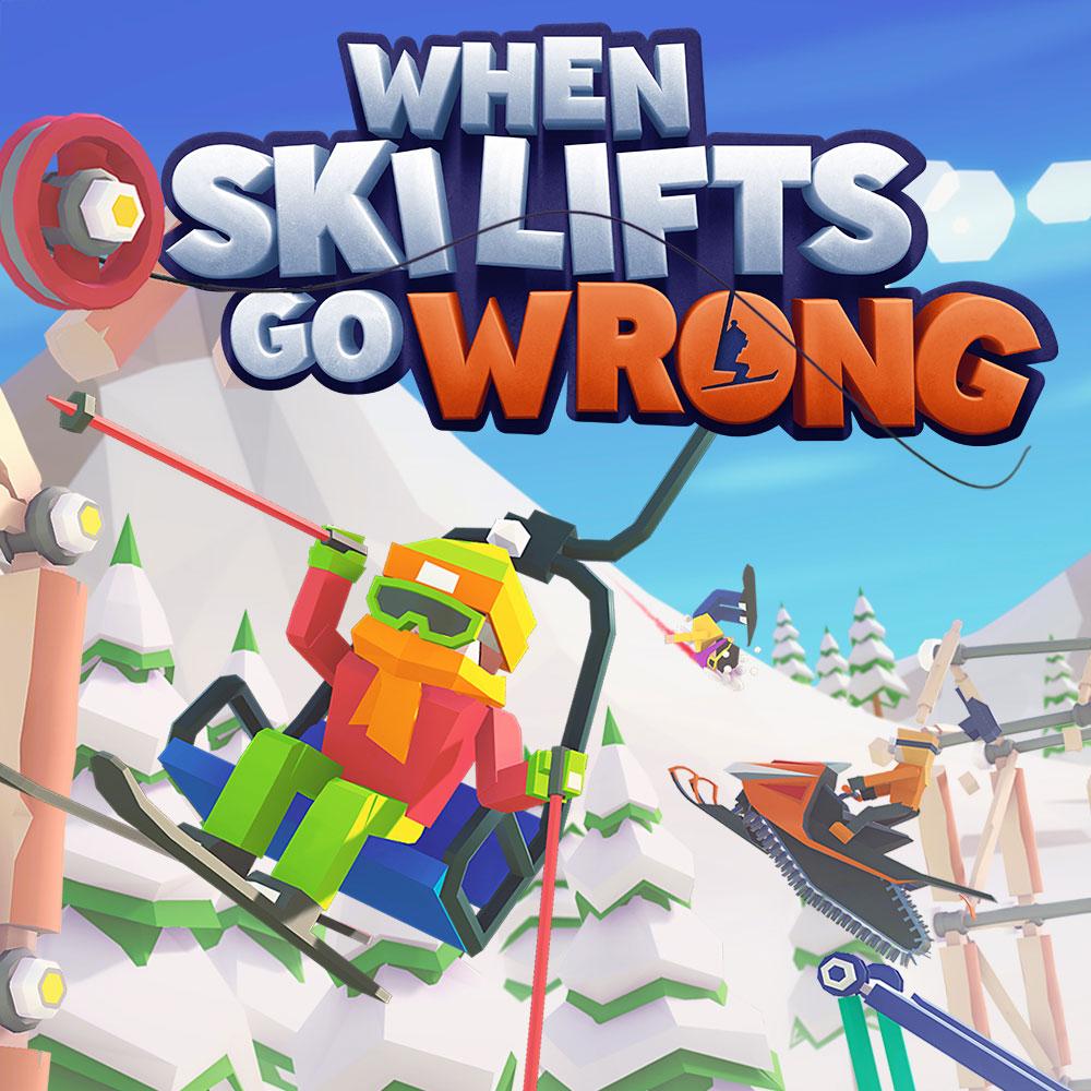 When Ski Lifts Go Wrong (Dématérialisé) - Nintendo Switch à 1,49€ ou PC à 4,49€ (Steam)