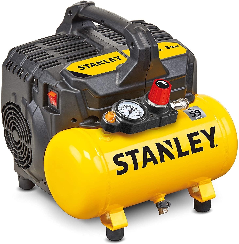 Compresseur Stanley 59DB DST 100/8/6 - 59 dB, 6 litres, 1 HP