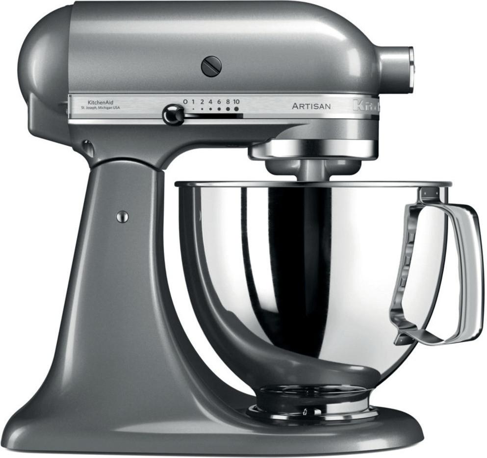 Robot de cuisine pâtissier KitchenAid Artisan 5KSM125ECU - 4.8 L, 300 W