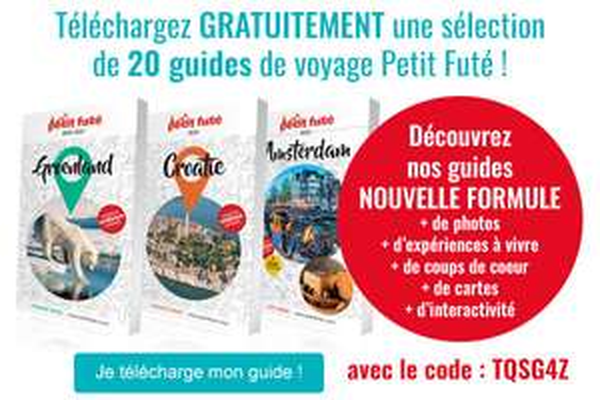 Un guide de voyage numérique e-book Le Petit Futé offert parmi une sélection de 20 guides (dématérialisé) - eBookFute.com