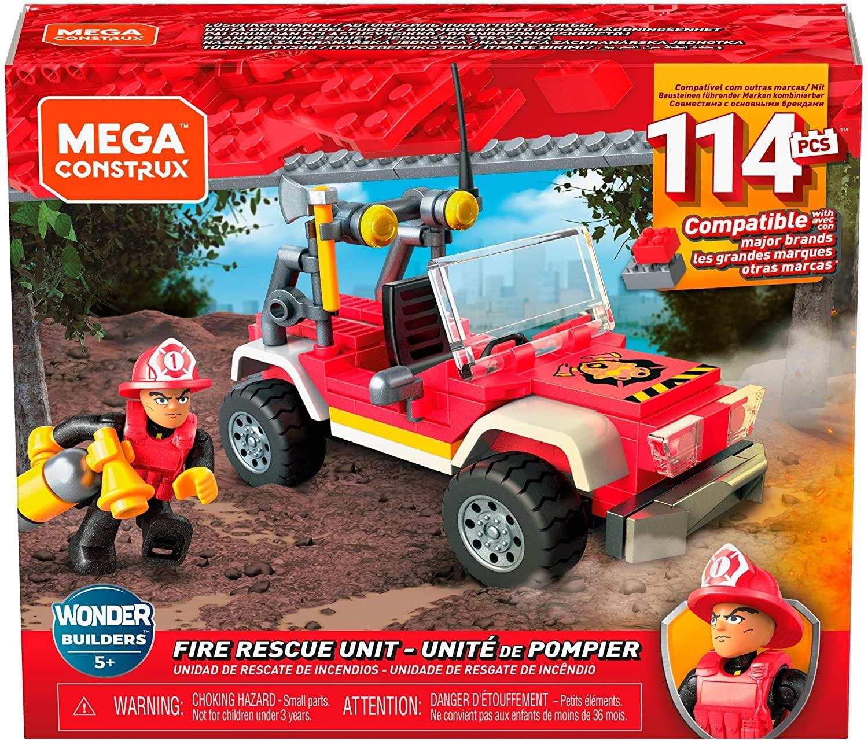 Jeu de construction Mega Construx : Unité de pompier n°GLK53