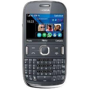 Téléphone Nokia Asha 302 graphique - Reconditionné avec mobicarte