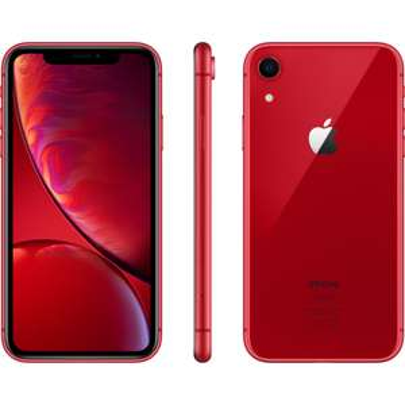 """Smartphone 6.1"""" Apple iPhone XR - 64 Go, Rouge, Reconditionné - Très Bon Etat"""