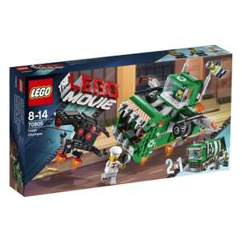Jeu de construction Lego movie - Le Camion Poubelle n°70805