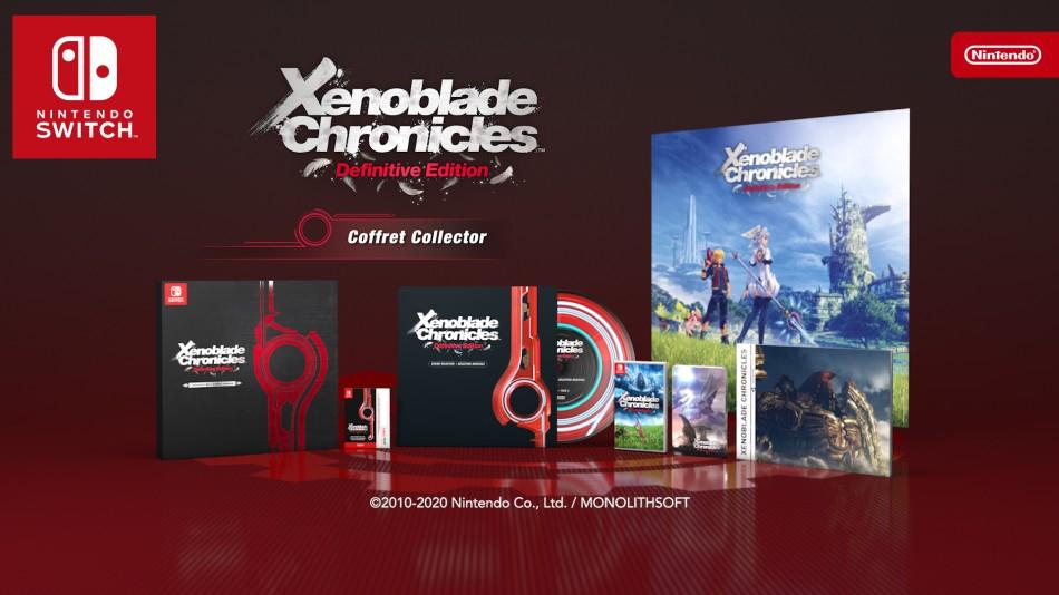 Xenoblade Chronicles Definitive Edition - Edition Collector sur Nintendo Switch