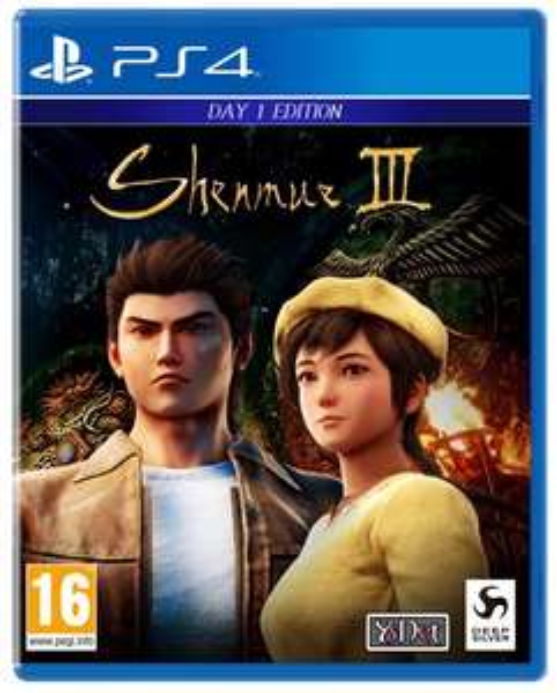 Shenmue III + Steelbook sur PS4