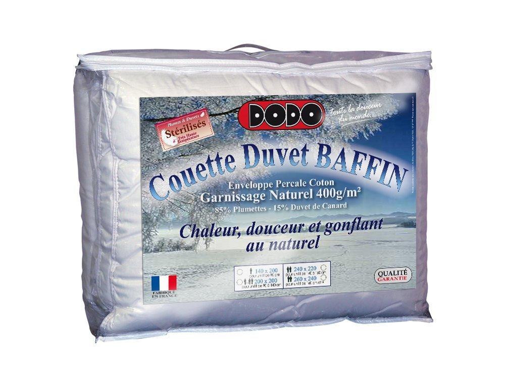 Couette Dodo Duvet Baffin - 240x260cm, Chaude Naturel