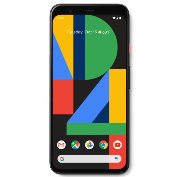 "Smartphone 5.7"" Google Pixel 4 - 64 Go ROM, 6 Go RAM, Noir (Pixel 4 XL à 749€)"