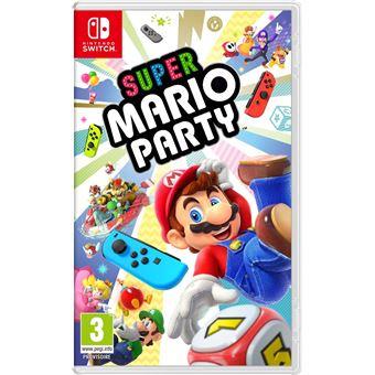 Jeu Super Mario Party sur Nintendo Switch (Boîte en Anglais, jouable en Français)