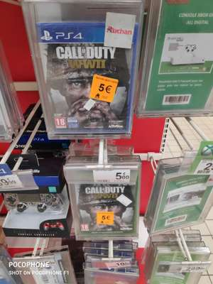 Call of Duty WWII sur Xbox One et PS4 - Montgeron (91)