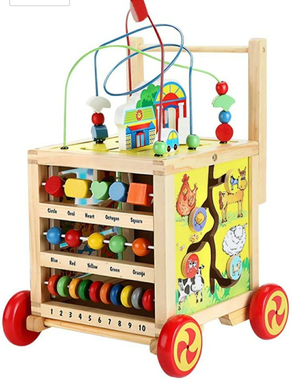 Trotteur pour bébé en bois (Vendeur tiers)