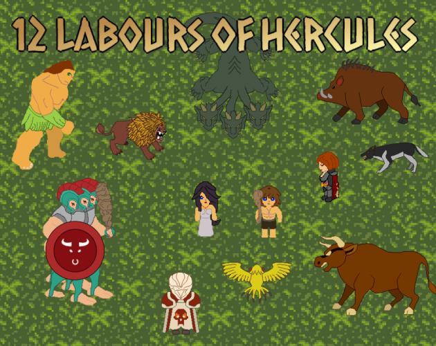 Jeu 12 labours of Hercules gratuit sur PC (Dématérialisé - DRM-Free) - itch.io