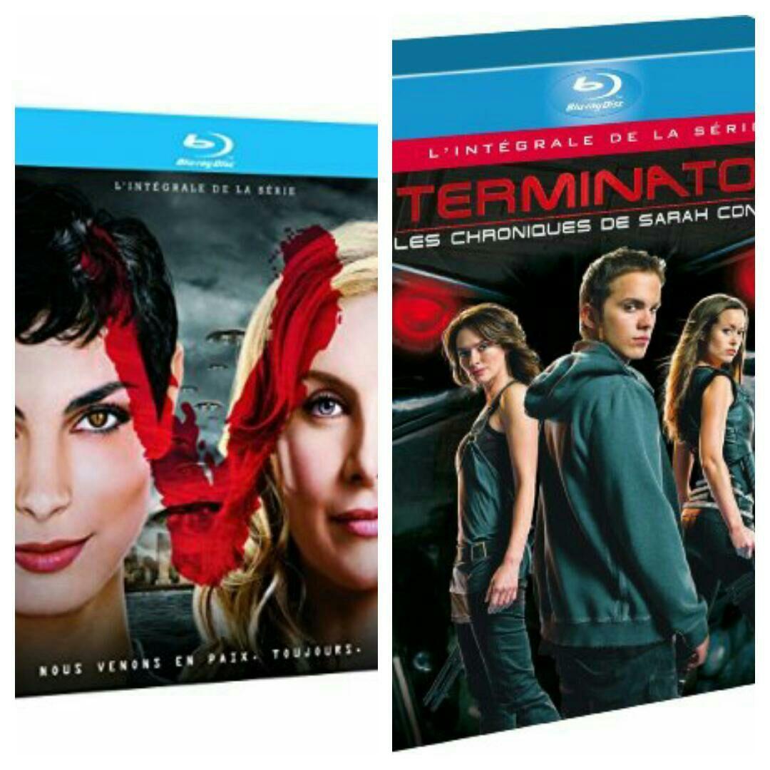 Sélection Coffret Blu-ray : V l'intégrale 2 saisons ou Sarah connor chronicles intégrale