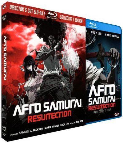 Afro Samurai : Resurrection - Edition Collector Blu-ray (Fourreau + 2 Blu-ray + Livret)