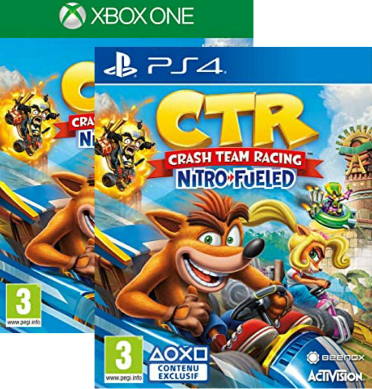Sélection de jeux Activision en promotion sur PS4 et Xbox One - Ex : Crash Team Racing Nitro-Fueled