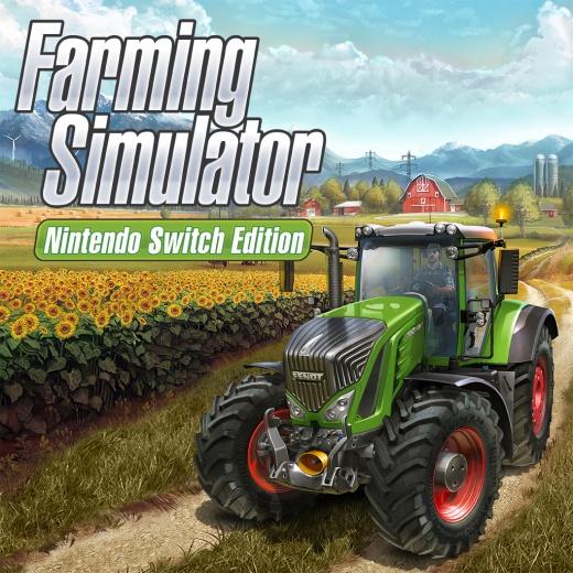 Jeu Farming Simulator - Édition Nintendo Switch (dématérialisé)