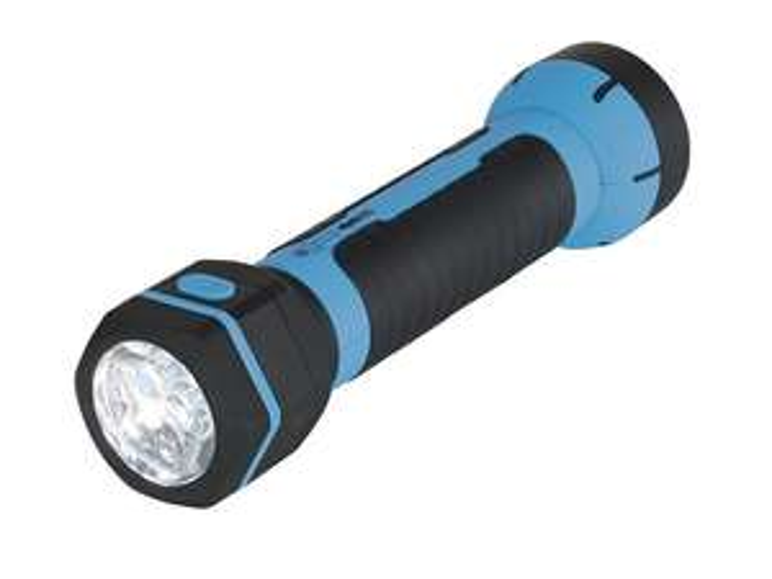 Lampe LED rechargeable - Rouge ou bleu