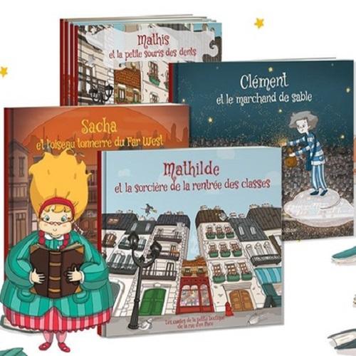Bon de 50% de réduction sur tout le site Les Enfants Roy (livres pour enfants personnalisés) - Ex : Pack deluxe à 19,95€ au lieu de 39,90€