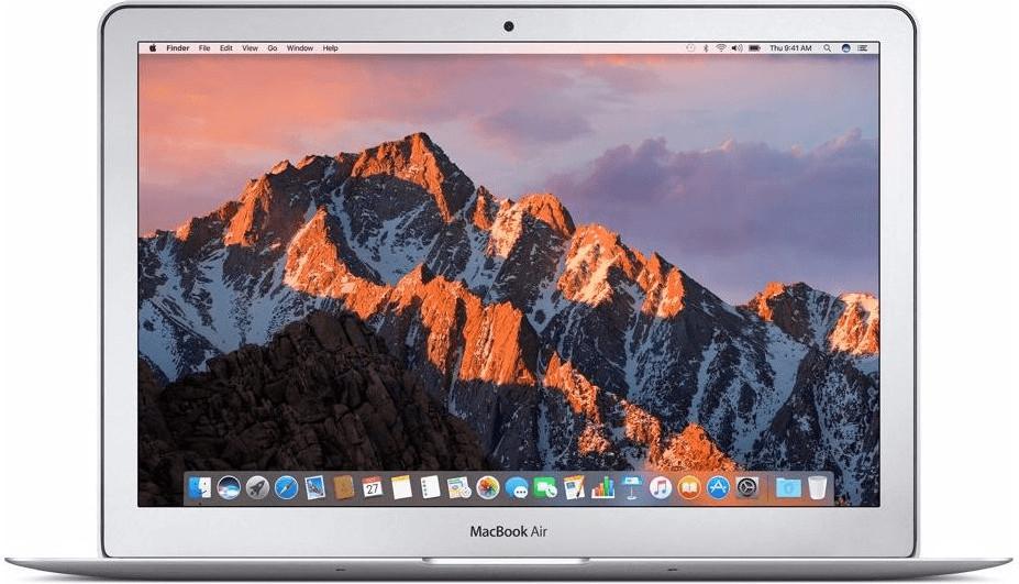 """PC portable 13.3"""" Apple MacBook Air 2017 (MQD32FN/A) - i5-5350U, 8 Go de RAM, 128 Go en SSD, argent"""