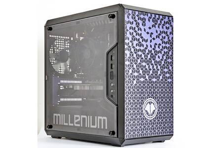 Ordinateur Millenium MM1 Mini G165-I594F-W-S - i5-9400F, 16 Go RAM, 250 Go SSD + 1 To HDD, GTX 1650, Windows 10