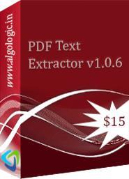 Logiciel PDF Text Extractor gratuit (au lieu de 15$)