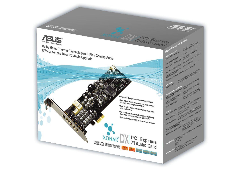 Carte son Asus Xonar  DX PCIe