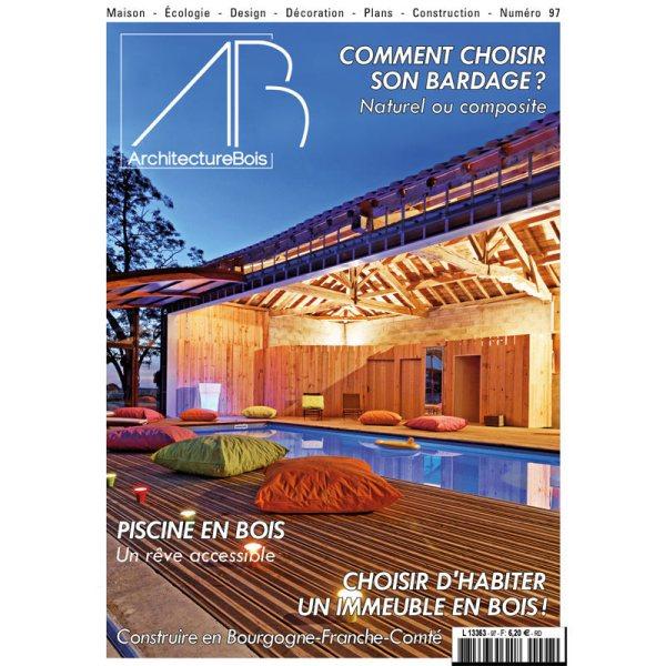 Magazine Architecture Bois n°97 gratuit pendant le confinement (Dématérialisé)
