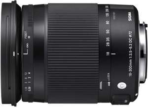 Objectif Sigma 18-300mm F3.5-6.3 DC Macro OS HSM