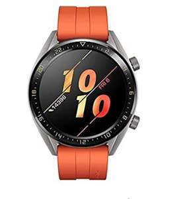 Montre connectée GPS Huawei Watch GT Active Smartwatch - 46 mm, Orange