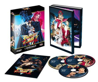 Sélection de coffrets Blu-ray & DVD en promotion - Ex : Coffret Street Fighter II (6 DVD) + Livret - Edition Gold