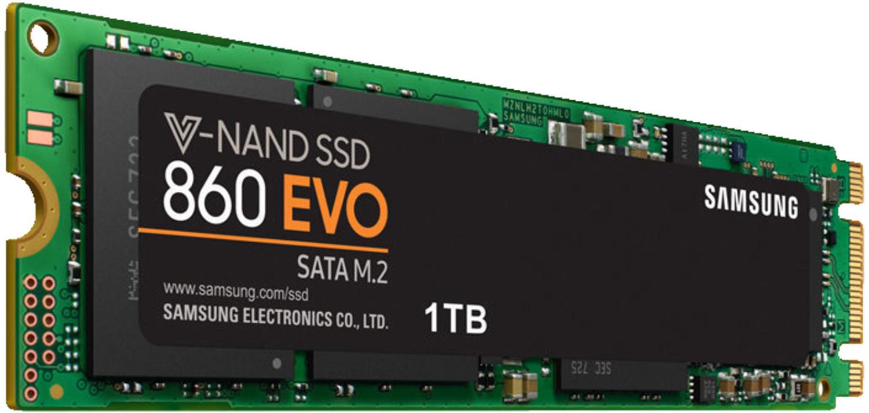 SSD interne M.2 Samsung 860 Evo - 1 To, SATA