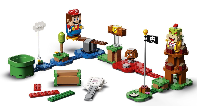 [Précommande] Pack de démarrage Lego Super Mario - Les Aventures de Mario (71360) + extension Topi Taupe et le Super champignon
