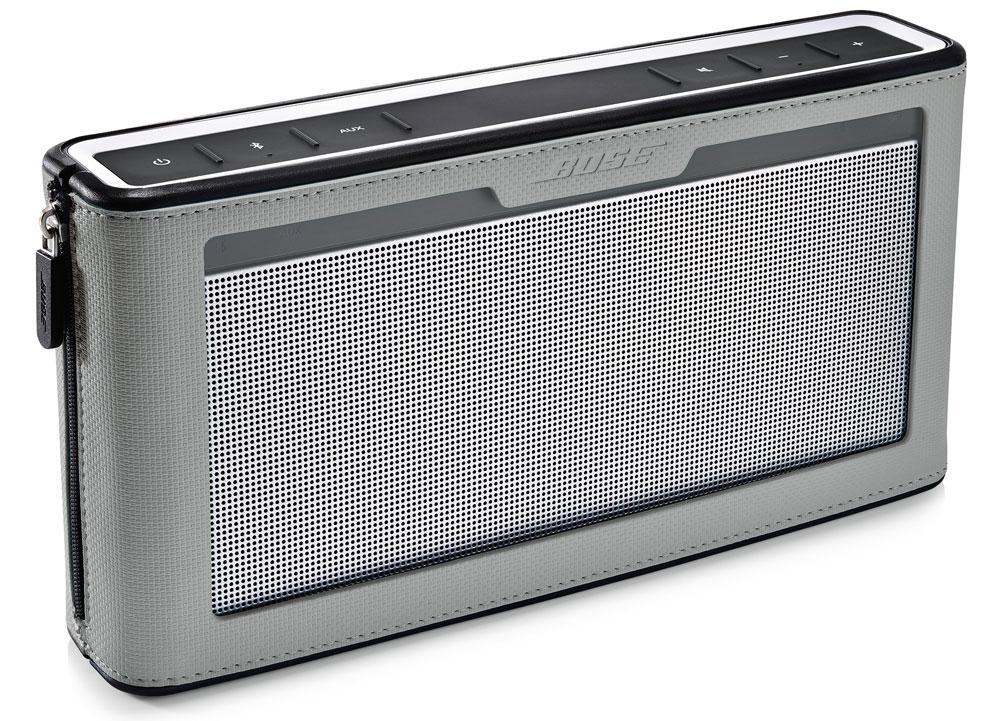 Enceinte bluetooth Soundlink III soldée chez Bose du centre commercial Beaugrenelle