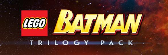 Pack de jeux Lego Batman trilogy sur PC (Dématérialisé, Steam)