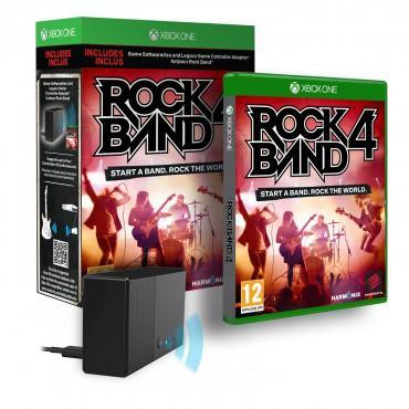 Jeu Rock Band 4 sur Xbox One + Adaptateur anciens instruments