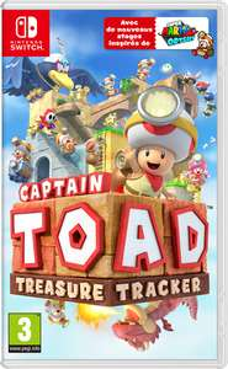 Captain Toad Treasure Tracker sur Nintendo Switch (Dématérialisé)
