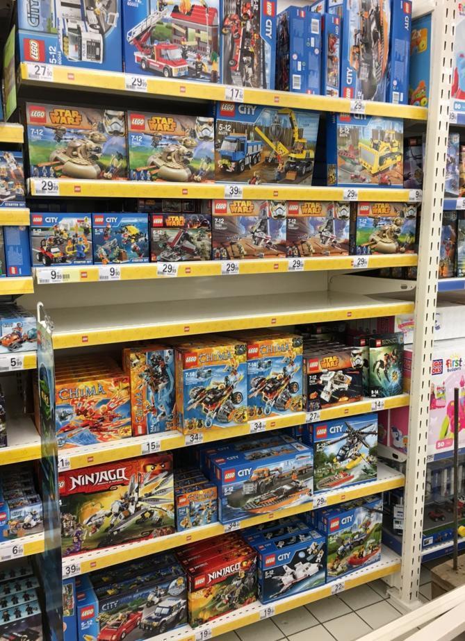 30% sur l'ensemble du rayon Lego