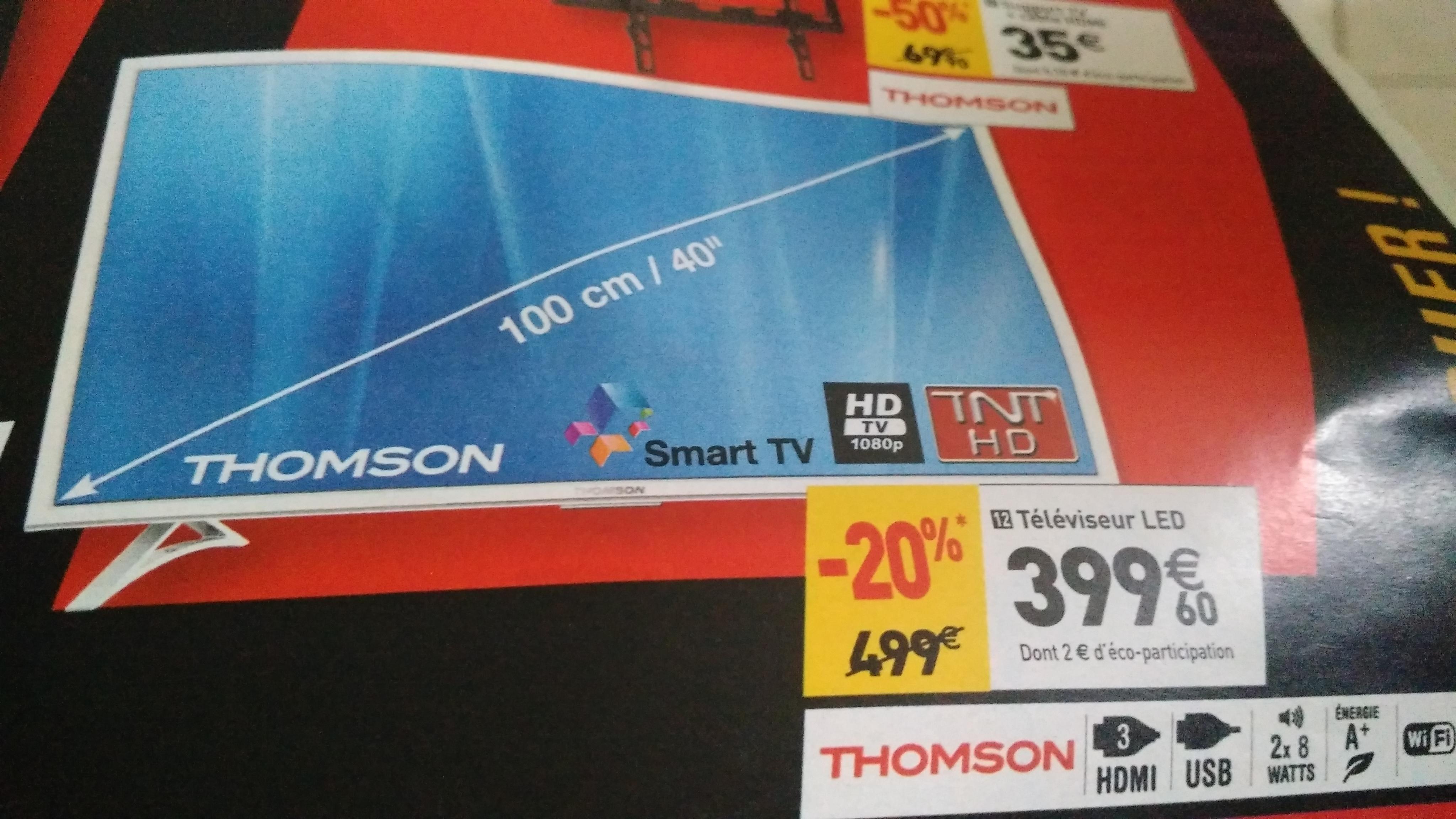 "TV 40""Thomson 40FA5403WW -  Smart TV  - Full HD"