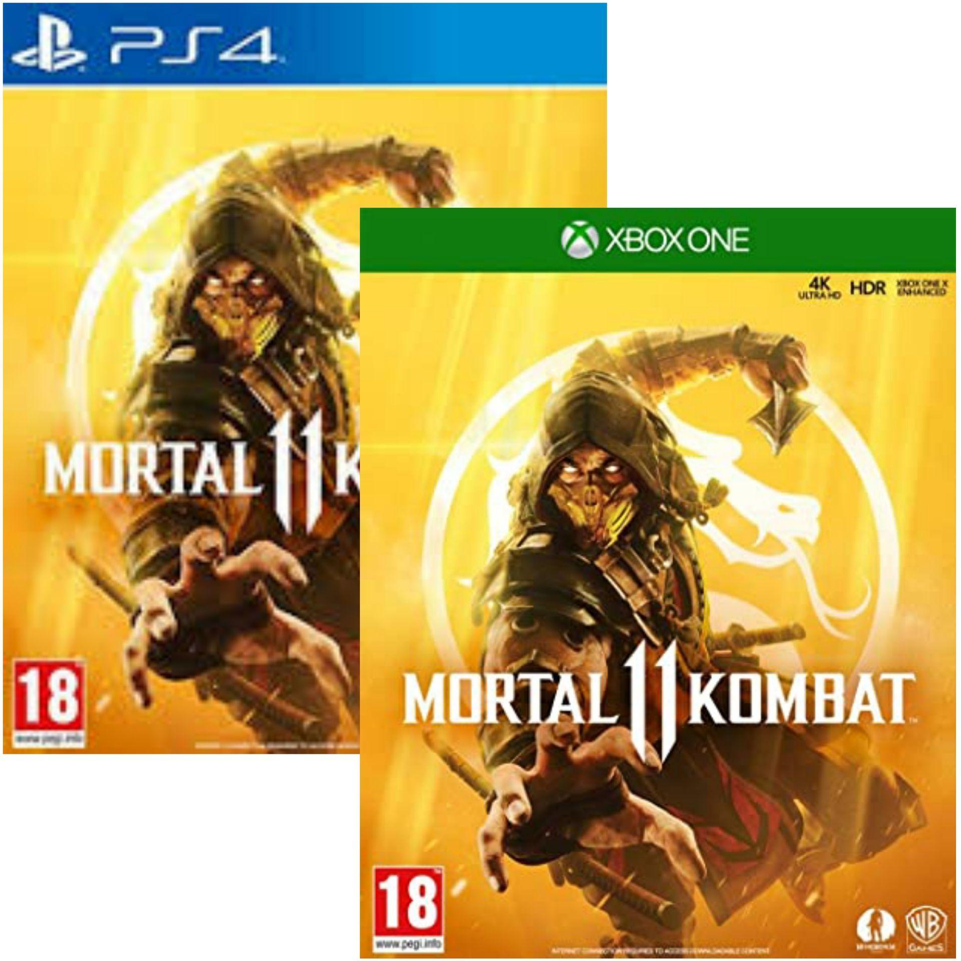 Mortal Kombat 11 sur PS4 et Xbox One