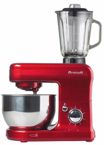 Robot pâtissier Brandt KM544BR Rouge