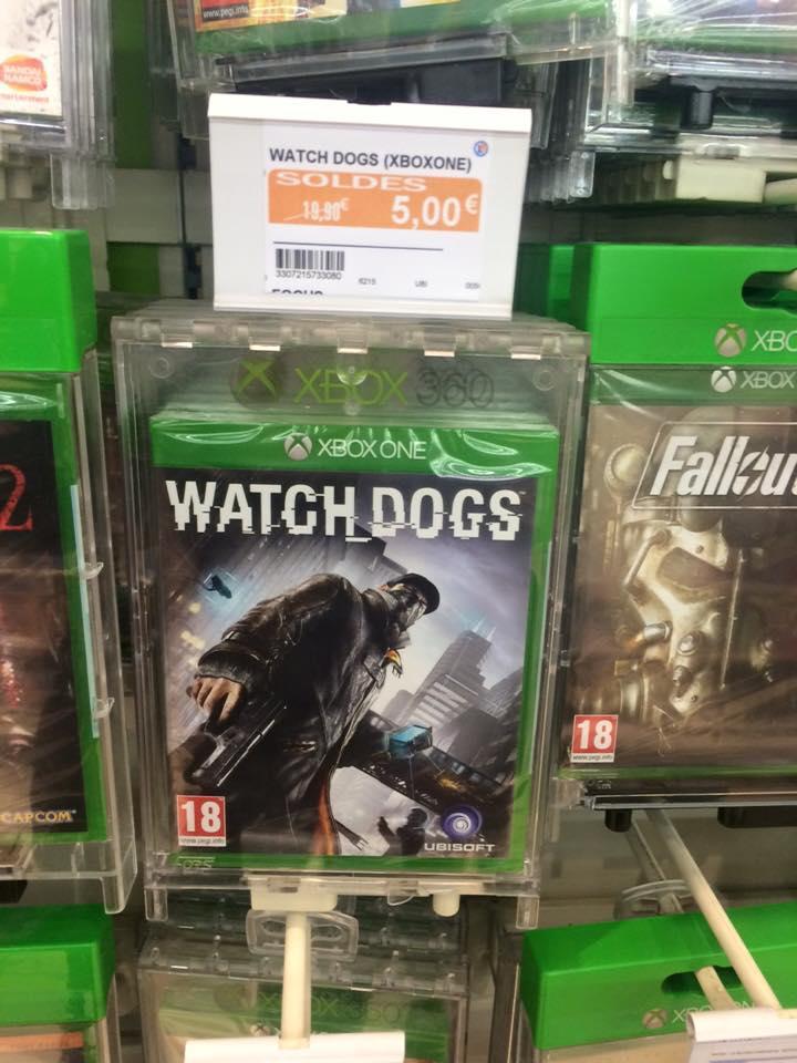 Sélection de Jeux PS4 et Xbox One en promo - Ex : Watch Dogs sur Xbox One