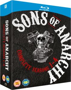 Coffret Blu-ray Sons of Anarchy - L'intégrale des Saisons 1 à 4 -
