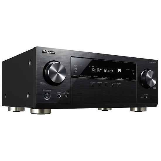 Amplificateur Home cinéma Pioneer VSX-933 - 7.2 canaux, Wi-Fi, Bluetooth, 130W, Noir, Dolby Atmos DTS X