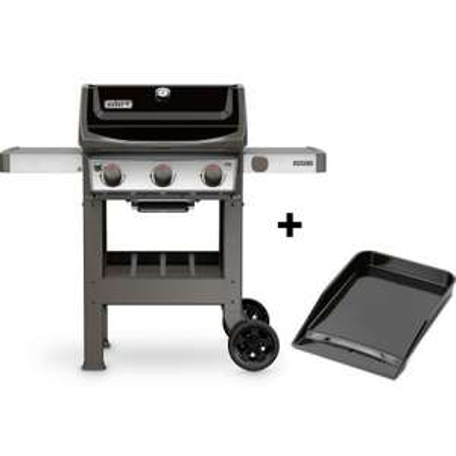 Barbecue à gaz Weber Spirit 2 E-310 avec Plancha et 2 grilles en fonte (Via ODR de 50€) - esprit-barbecue.fr