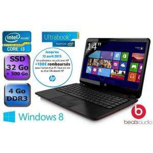 """HP Envy 4-1162sf Ultrabook 14"""" (+ possibilité ODR Recyclage 100€)"""