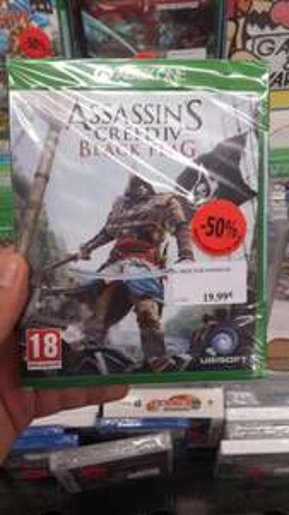 50% de réduction sur une sélection de jeux et consoles - Ex : Bayonetta 2 Wii U à 25€, Assassin's Creed 4 Black Flag Xbox One