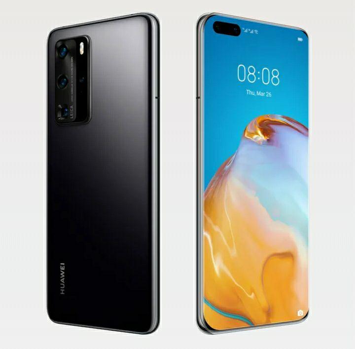 """[Précommande] Smartphone 6.1"""" Huawei P40 pro - 5G, 8 Go RAM, 256 Go ROM (Sans Services Google) + Huawei Watch GT2 (via ODR)"""